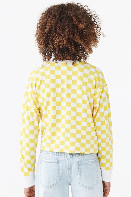 Girls Checkered Tee (Kids), image 3
