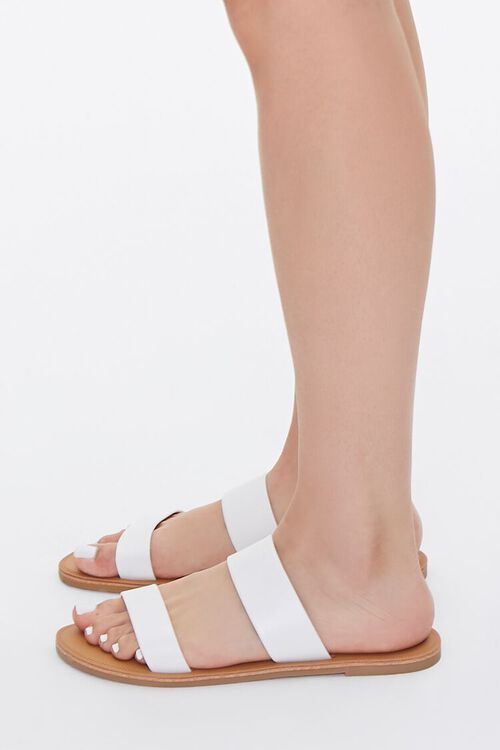 Faux Leather Strapped Sandals, image 2