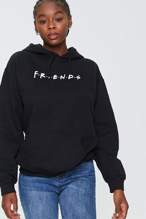 Fleece Friends Graphic Hoodie, image 1