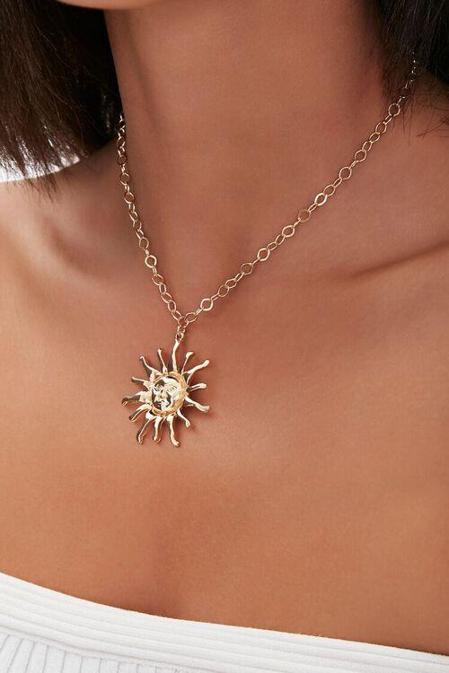 Sun Pendant Necklace, image 1