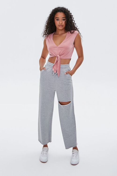 Active Knotted Crop Top, image 4