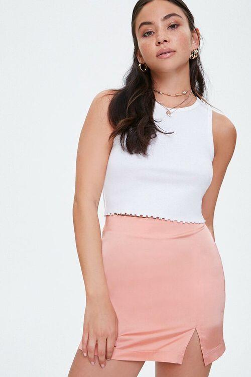 Satin Mini Skirt, image 6