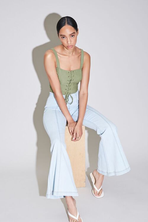Flare High-Rise Jeans, image 1