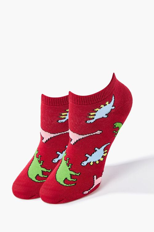 Dinosaur Ankle Socks, image 1
