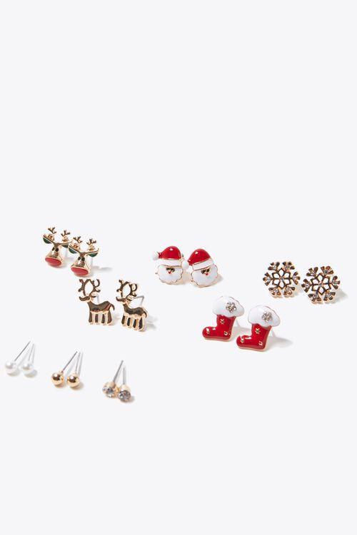 Holiday Stud Earring Set, image 1