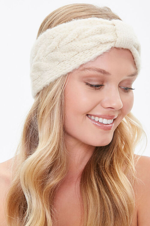 Cable Knit Headwrap, image 1