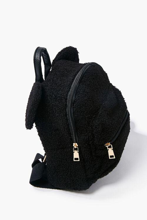 Faux Shearling Bear Backpack, image 2