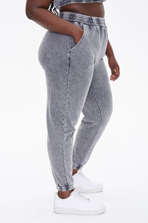 Plus Size French Terry Joggers, image 3