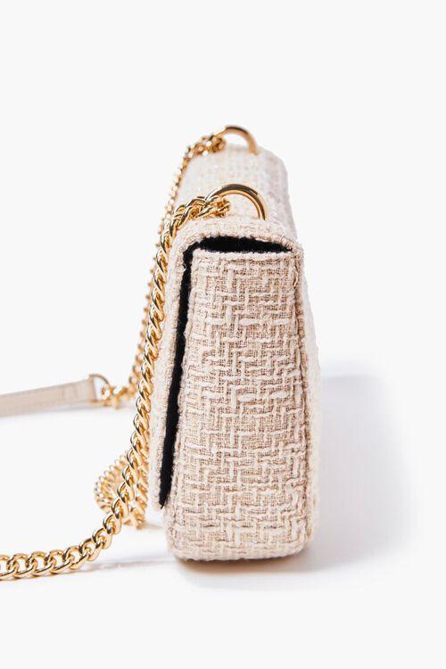 CREAM Quilted Dual-Strap Shoulder Bag, image 2