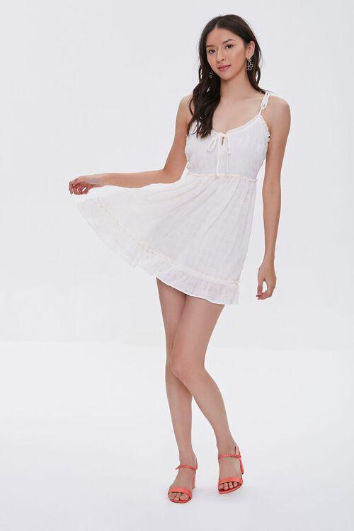 CREAM Ruffle-Trim Mini Dress, image 5