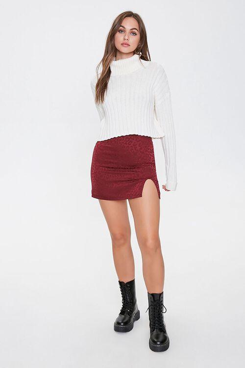 Leopard Print Mini Skirt, image 4