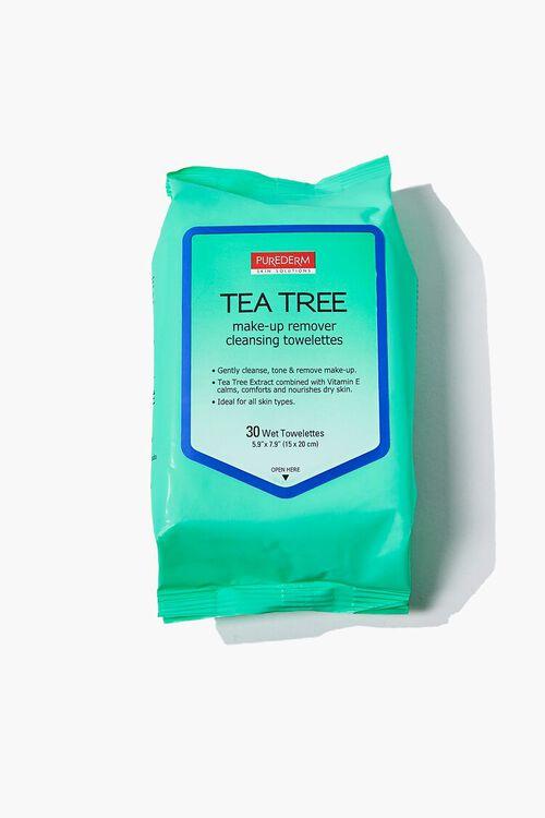 MINT Purederm Tea Tree Cleansing Towelettes, image 1