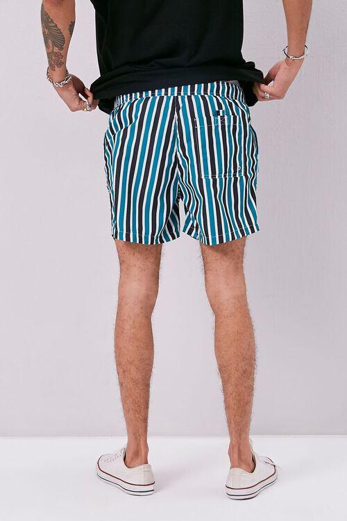 Striped Print Swim Trunks, image 4