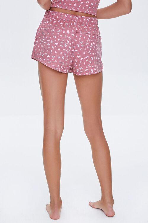 Floral Print Lounge Shorts, image 4