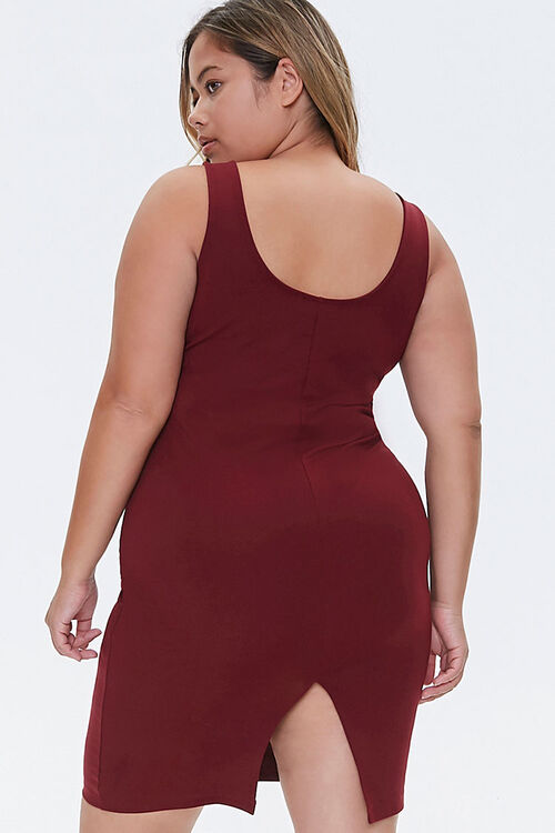 Plus Size Bodycon Mini Dress, image 3