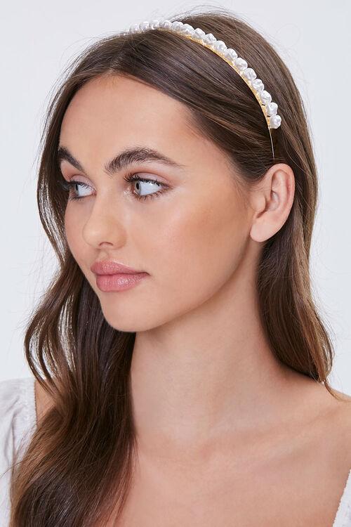 Faux Pearl Headband, image 1