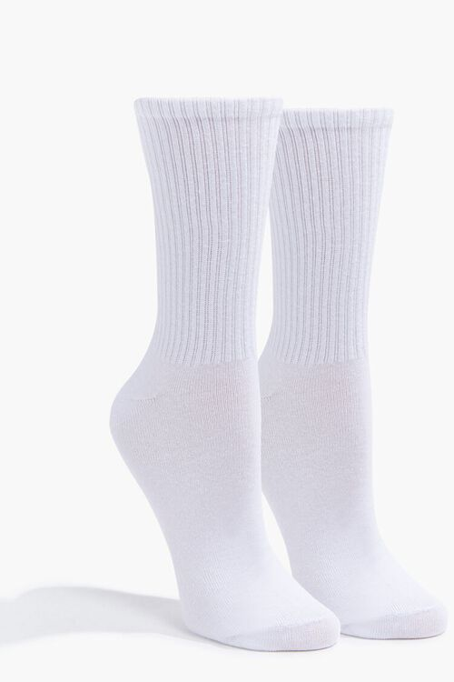 Smile Graphic Crew Socks, image 3