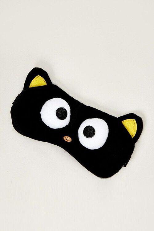 BLACK Chococat Plushie Sleep Mask, image 1