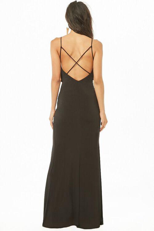 Flounce Slit Maxi Dress, image 4