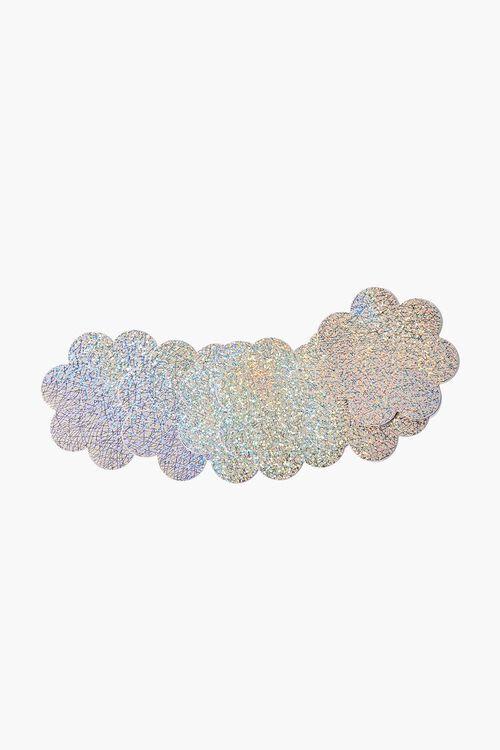 Glitter Floral Nipple Cover Set, image 1