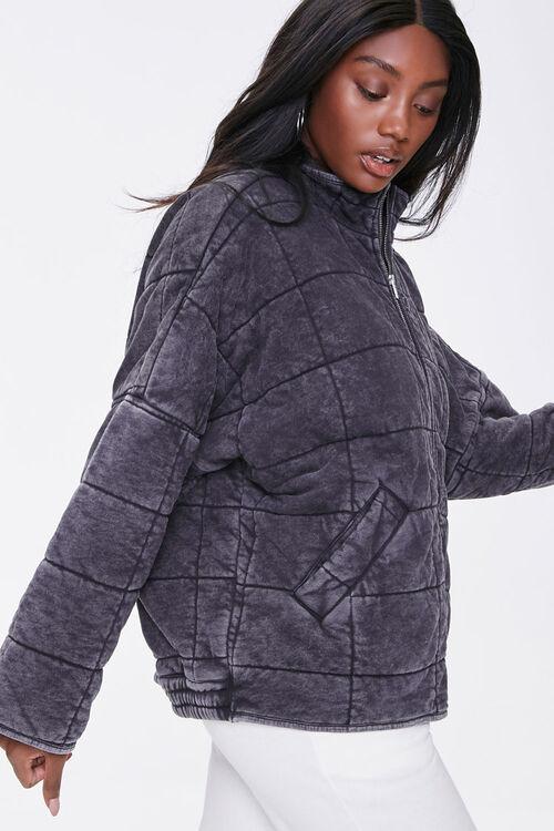 Quilted Zip-Up Jacket, image 2
