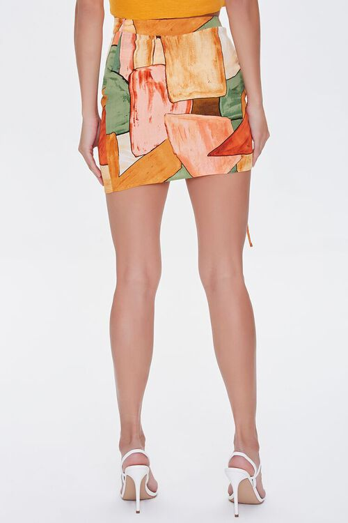Abstract Geo Print Mini Skirt, image 4