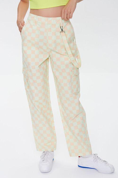Checkered Cargo Pants, image 2