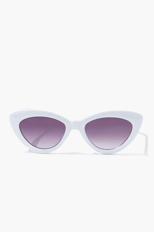 Opaque Cat-Eye Sunglasses, image 1