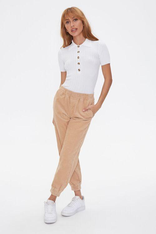 Sweater-Knit Polo Shirt, image 4