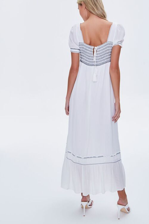 Embroidered Maxi Dress, image 3
