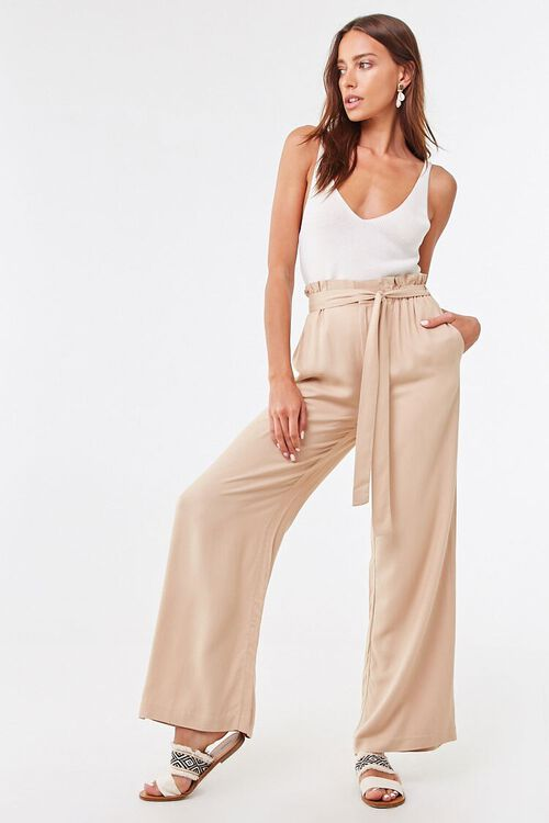 Belted Paperbag Mia Pants, image 4
