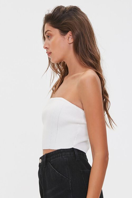 Sweater-Knit Tube Top, image 2