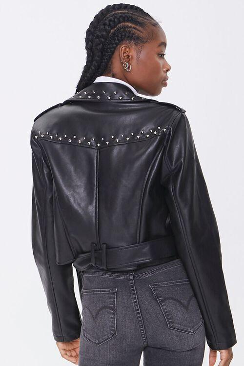 Studded Moto Jacket, image 3