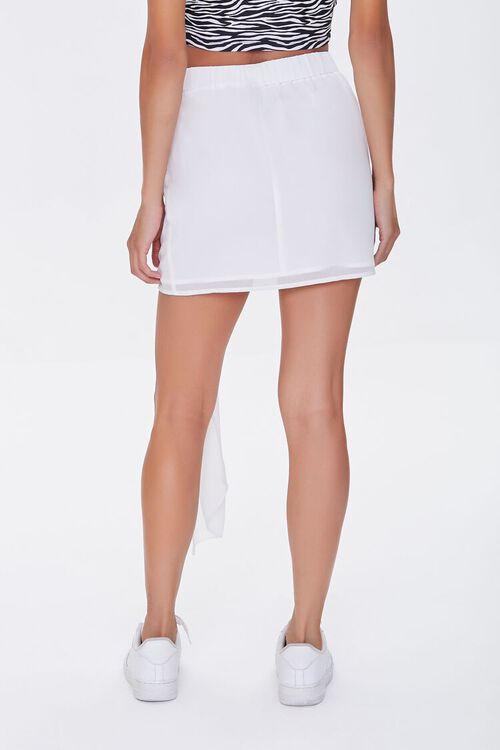 Draped Mini Skirt, image 4