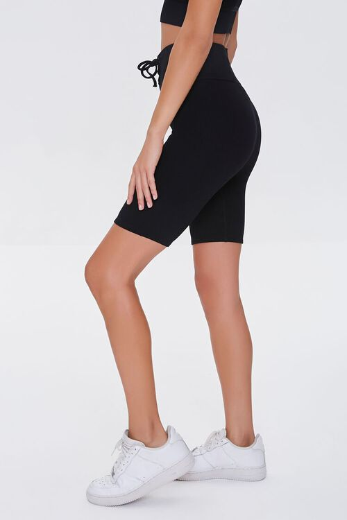 Active Seamless Lace-Up Shorts, image 3