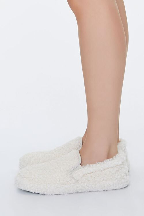 Faux Shearling Slip-On Sneakers, image 2