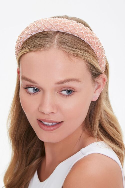 Beaded Lattice Headband, image 1