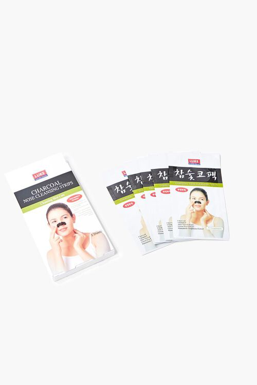 BLACK Charcoal Nose Cleansing Strips, image 1