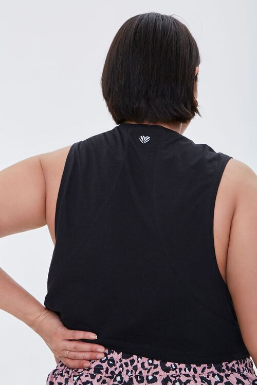 Plus Size Active Muscle Tee, image 3