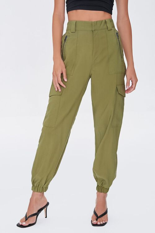 Cargo High-Rise Joggers, image 2