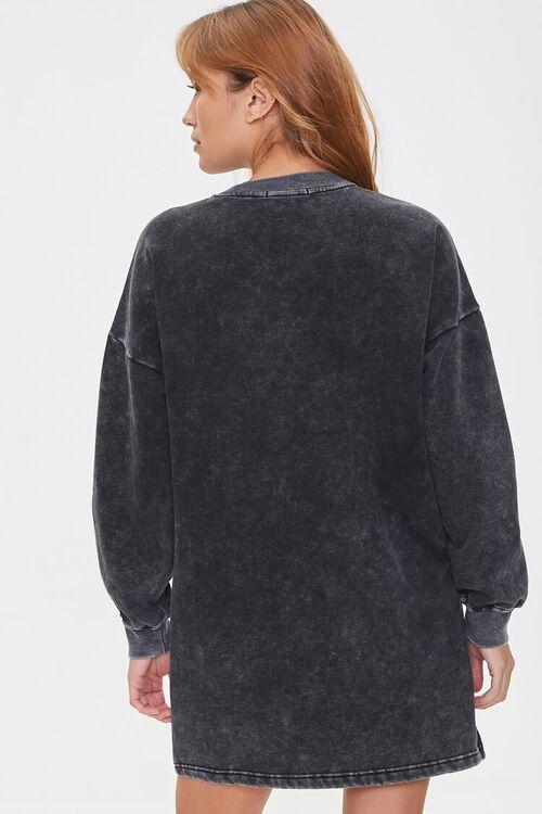 Fleece Sweatshirt Dress, image 3