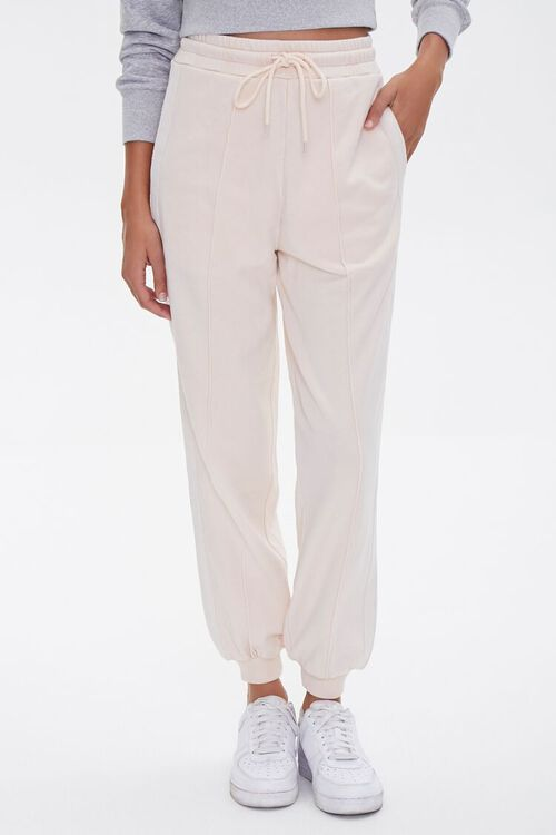 Side-Striped French Terry Joggers, image 2