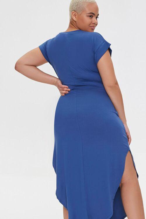 Plus Size Scoop-Hem Bodycon Dress, image 3