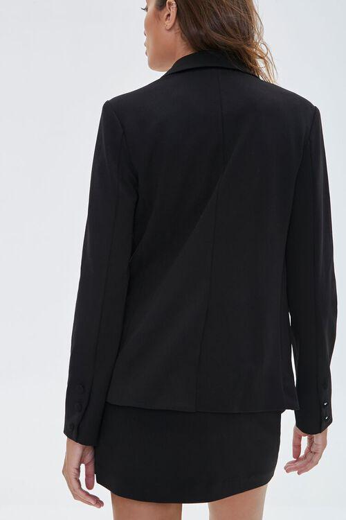 Peak Lapel Buttoned Blazer, image 3