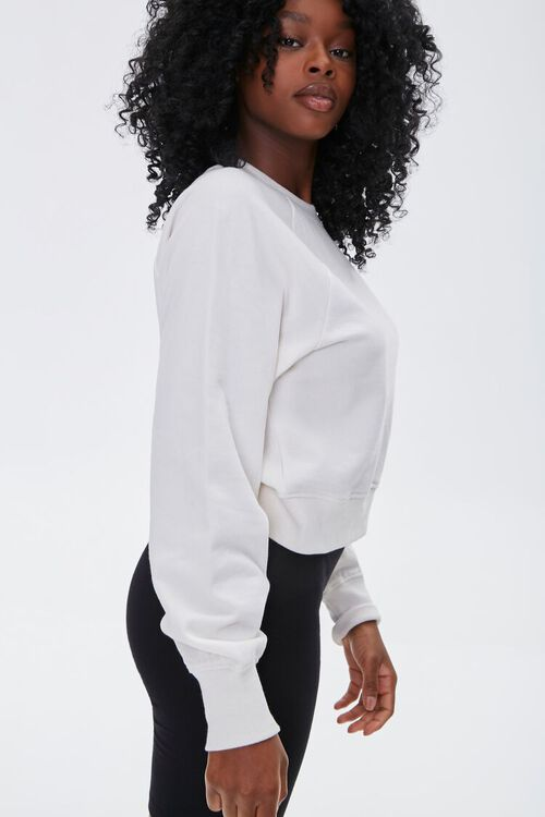 French Terry Crew Pullover, image 2