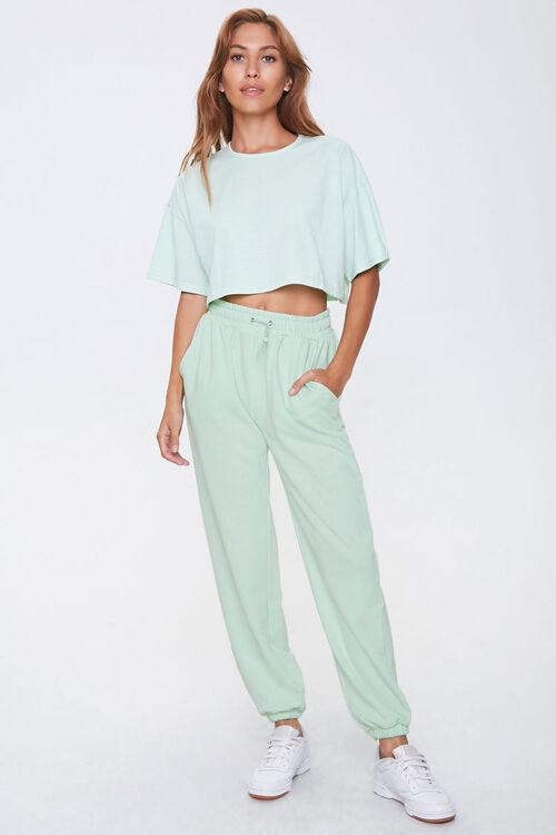 Cropped Tee & Joggers Set, image 4