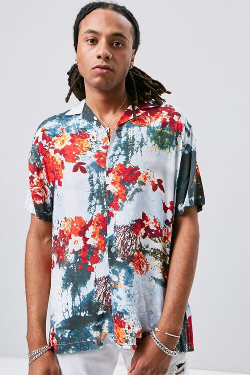 Abstract Floral Print Shirt, image 5