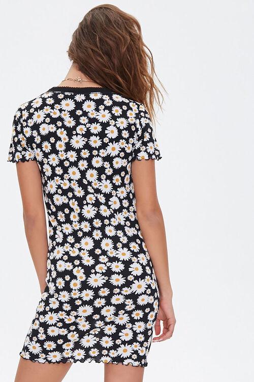 Daisy Print Mini Dress, image 3