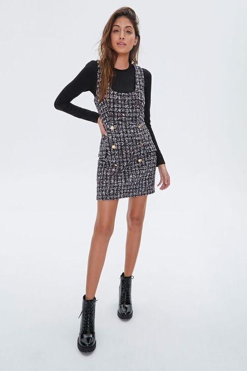 Tweed Pinafore Dress, image 4