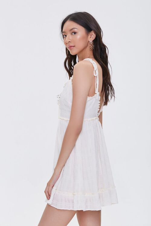 CREAM Ruffle-Trim Mini Dress, image 3